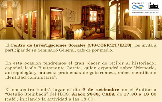 Seminario General CIS con Jesus Bustamante slider